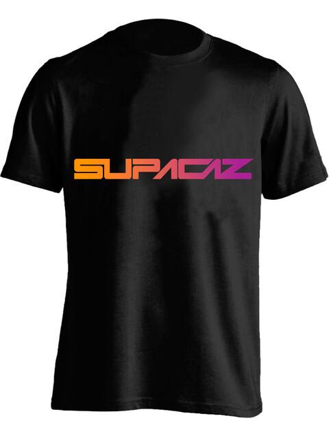 Supacaz Fader T-Shirt Unisex neon orange/neon lila